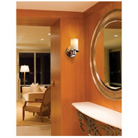 Justice Design FSN-8511-10-OPAL-CROM-LED1-700 Fusion LED 5 inch Polished Chrome Wall Sconce Wall Light in 700 Lm LED Opal