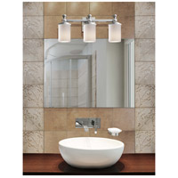 Justice Design Fusion Deco 3-Light Bath Bar in Brushed Nickel FSN-8533-10-OPAL-NCKL alternative photo thumbnail