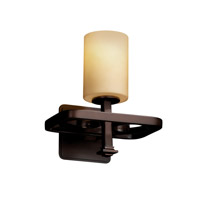 Justice Design Arcadia 1 Light Wall Sconce in Dark Bronze FSN-8561-10-ALMD-DBRZ