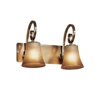 Justice Design Victoria 2 Light Vanity Light FSN-8572-20-CRML-ABRS