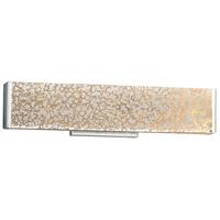 Justice Design FSN-8601-MROR-CROM Fusion 19 inch Vanity Light Wall Light in Polished Chrome Mercury Glass