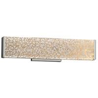 Justice Design FSN-8601-MROR-NCKL Fusion 19 inch Vanity Light Wall Light in Brushed Nickel Mercury Glass