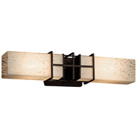 Justice Design Group Fusion LED Vanity Light in Dark Bronze FSN-8642-DROP-DBRZ-LED2-1400