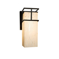Fusion 1 Light 7 inch Matte Black Wall Sconce Wall Light in Droplet