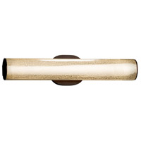 Justice Design FSN-8651-MROR-DBRZ Fusion 20 inch Vanity Light Wall Light in Dark Bronze Mercury Glass