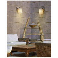 Justice Design Fusion Montana 1-Light Wall Sconce in Brushed Nickel FSN-8671-15-WEVE-NCKL alternative photo thumbnail