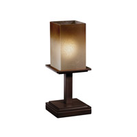 Justice Design Montana 1 Light Table Lamp in Dark Bronze FSN-8698-15-CRML-DBRZ