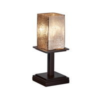 Justice Design Fusion Montana 1-Light Table Lamp (Short) in Dark Bronze FSN-8698-15-MROR-DBRZ
