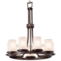 Fusion 9 Light 23 inch Dark Bronze Chandelier Ceiling Light