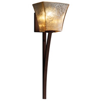 Justice Design Group Fusion LED Wall Sconce in Dark Bronze FSN-8791-40-MROR-DBRZ-LED1-700