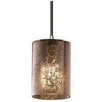 Justice Design Fusion Mini 1-Light Pendant in Brushed Nickel FSN-8815-10-MROR-NCKL