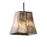 Justice Design Fusion Mini 1-Light Pendant in Polished Chrome FSN-8815-40-MROR-CROM photo thumbnail
