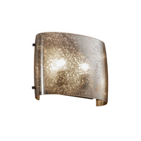 Justice Design FSN-8855-MROR-DBRZ Signature 2 Light 12 inch Dark Bronze ADA Wall Sconce Wall Light in Mercury Glass, Incandescent thumb