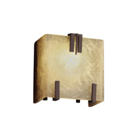 Fusion 1 Light 6 inch Dark Bronze ADA Wall Sconce Wall Light in Caramel