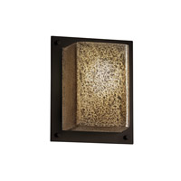 Justice Design Fusion 1 Light Wall Sconce in Dark Bronze FSN-8891-MROR-DBRZ