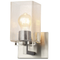 Justice Design FSN-8941-15-SEED-NCKL EVOLV 6 inch Brushed Nickel Wall Sconce Wall Light, Vice Family
