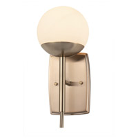 Justice Design Brushed Brass Wall Sconces