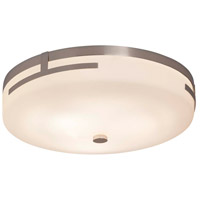 Justice Design FSN-8995-MROR-CROM Fusion LED 14 inch Polished Chrome Flush Mount Ceiling Light in Mercury Glass