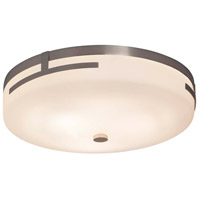 Justice Design FSN-8995-OPAL-NCKL Fusion LED 14 inch Brushed Nickel Flush Mount Ceiling Light