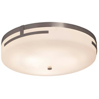 Justice Design FSN-8998-OPAL-NCKL Fusion LED 19 inch Brushed Nickel Flush Mount Ceiling Light