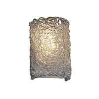 Justice Design GLA-5542-LACE-CROM Veneto Luce 2 Light 8 inch Polished Chrome Wall Sconce Wall Light