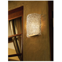 Justice Design GLA-5542W-LACE-CROM-LED1-1000 Veneto Luce LED 8 inch Polished Chrome Wall Sconce Wall Light in 1000 Lm LED