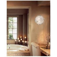 Justice Design GLA-5545-LACE-CROM-LED2-2000 Veneto Luce LED 13 inch Polished Chrome Flush Mount Ceiling Light in 2000 Lm LED