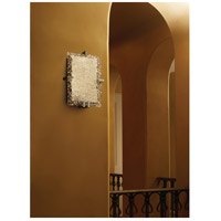 Justice Design GLA-5551-LACE-NCKL Veneto Luce 2 Light 9 inch Brushed Nickel ADA Wall Sconce Wall Light in Incandescent