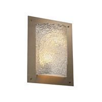Justice Design GLA-5563-LACE-CROM-LED2-2000 Veneto Luce LED 12 inch Polished Chrome ADA Wall Sconce Wall Light in 2000 Lm LED
