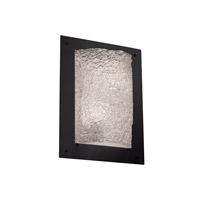 Justice Design Veneto Luce Framed Rectangle 4-Sided Wall Sconce (Ada) in Matte Black GLA-5563-LACE-MBLK