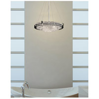 Justice Design Brushed Nickel Metropolis Pendants