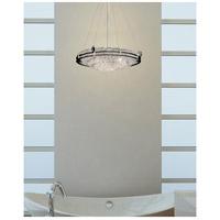Justice Design GLA-8122-35-LACE-CROM-LED5-5000 Veneto Luce LED 28 inch Polished Chrome Pendant Ceiling Light