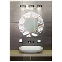 Justice Design GLA-8173-26-WHTW-CROM Metropolis 3 Light 27 inch Polished Chrome Vanity Light Wall Light in Whitewash (Veneto Luce) Square with