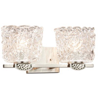 Justice Design GLA-8492-30-LACE-NCKL-LED2-1400 Veneto Luce Malleo LED 16 inch Brushed Nickel Bath Bar Wall Light