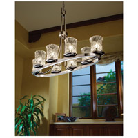 Veneto Luce LED 16 inch Brushed Nickel Chandelier Ceiling Light