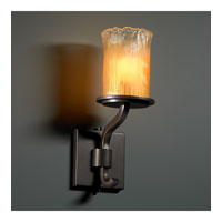 Justice Design Veneto Luce Sonoma 1-Light Wall Sconce (Short) in Dark Bronze GLA-8781-16-GLDC-DBRZ