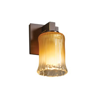 Justice Design Veneto Luce Modular 1-Light Wall Sconce in Dark Bronze GLA-8921-16-GLDC-DBRZ