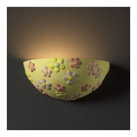 Justice Design Kids Room Flowers Wall Sconce KID-3350 photo thumbnail