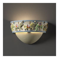 Justice Design Kids Room Carousel Wall Sconce KID-3360