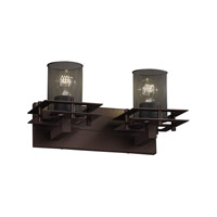 Justice Design Metropolis 2 Light Bath Light in Dark Bronze MSH-8172-10-DBRZ