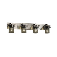 Justice Design Circa 4 Light Bath Light in Brushed Nickel MSH-8274-10-NCKL