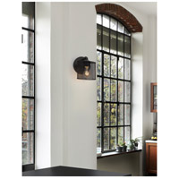 Justice Design MSH-8467-30-MBLK Wire Mesh 1 Light 7 inch Matte Black ADA Wall Sconce Wall Light