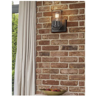 Justice Design MSH-8491-10-CROM Wire Mesh Malleo 1 Light 6 inch Polished Chrome Wall Sconce Wall Light