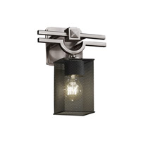 Argyle 1 Light 9 inch Brushed Nickel Wall Sconce Wall Light in Square with Flat Rim