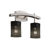 Justice Design Archway 2 Light Bath Light in Brushed Nickel MSH-8592-10-NCKL