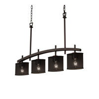Archway 4 inch Dark Bronze Chandelier Ceiling Light in Oval