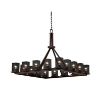 Justice Design Montana 16 Light Chandelier in Dark Bronze MSH-8615-15-DBRZ