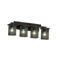 Justice Design Montana 4 Light Bath Light in Dark Bronze MSH-8674-15-DBRZ