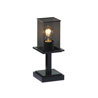 Justice Design Montana 1 Light Table Lamp in Matte Black MSH-8698-15-MBLK