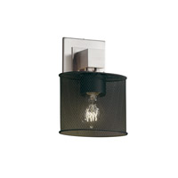 Justice Design Aero 1 Light Wall Sconce in Polished Chrome MSH-8707-30-CROM